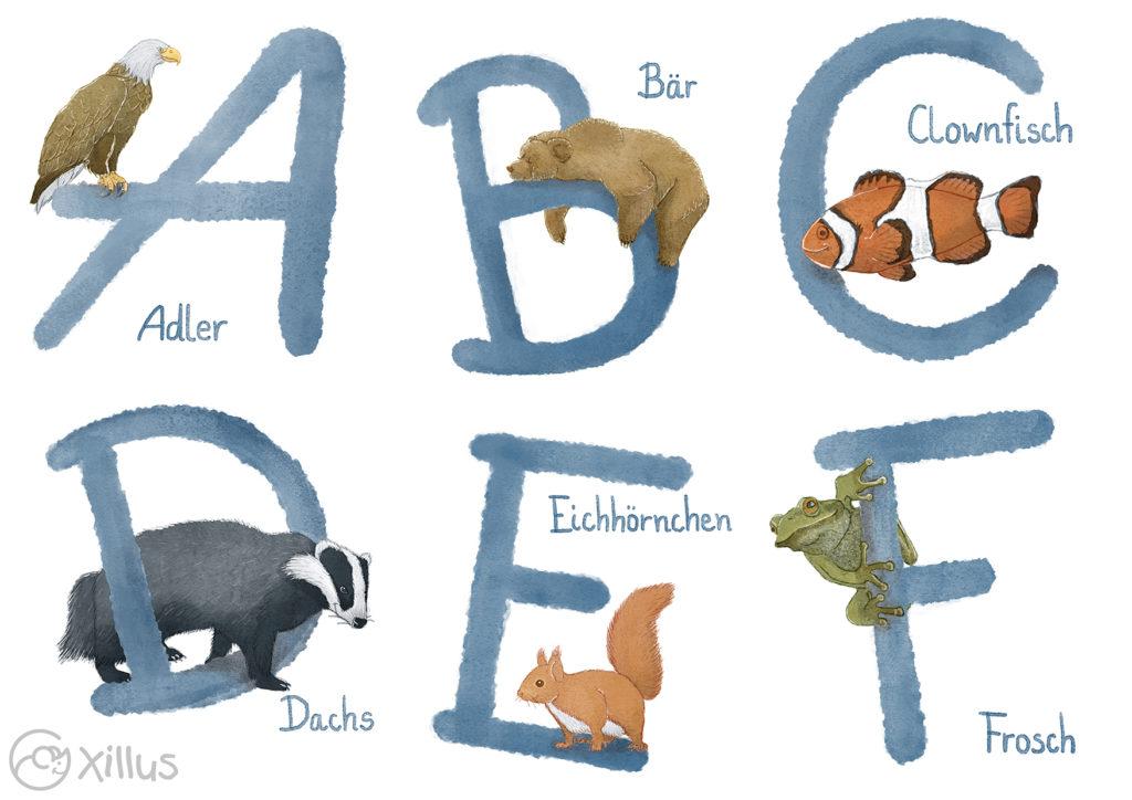 Tier-Alphabet